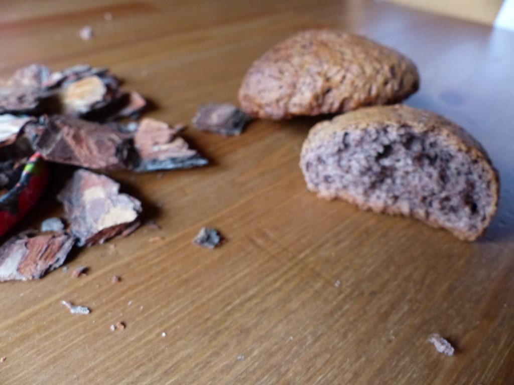 Biscuits à la farine d'écorce de pin
