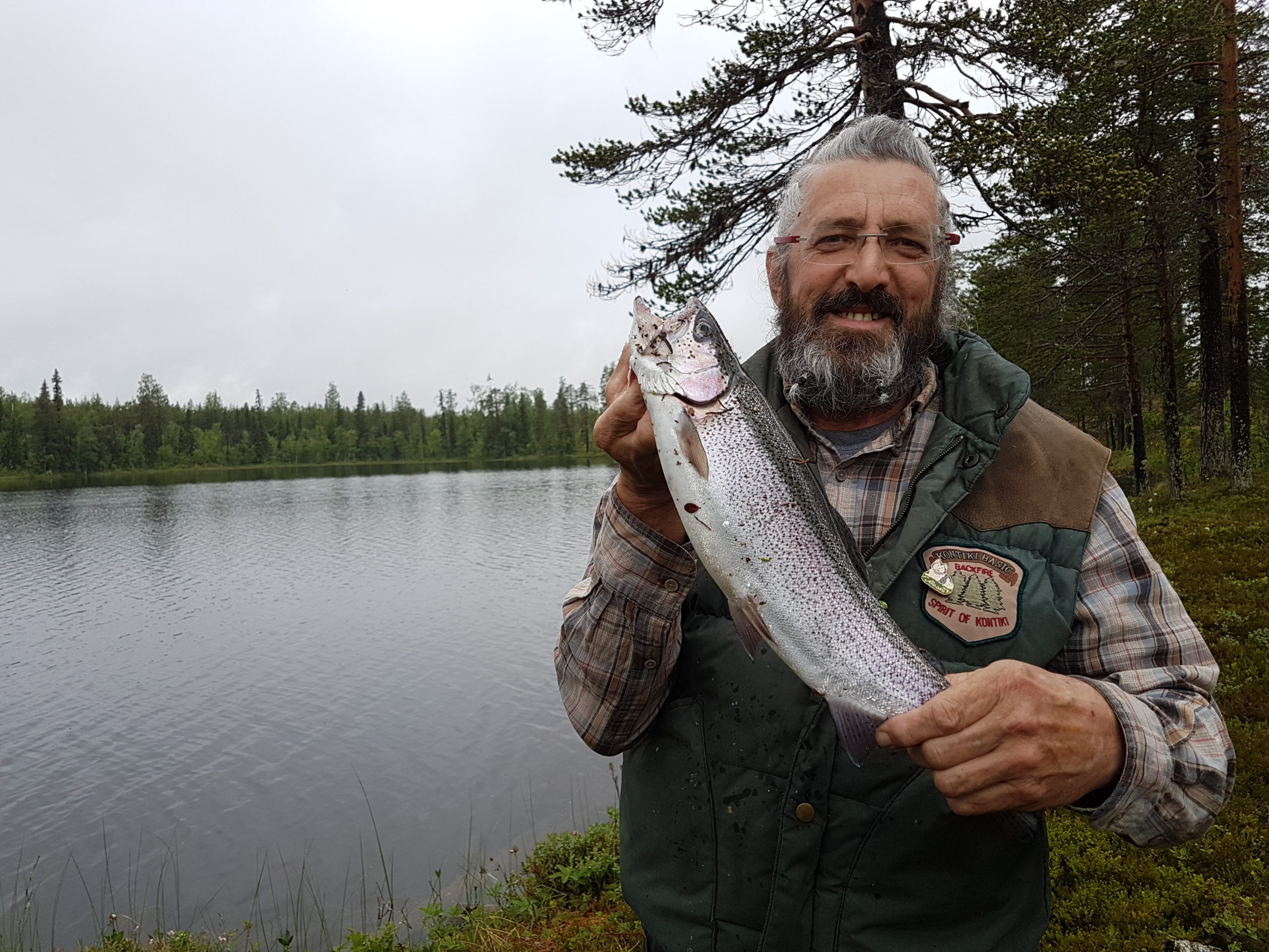 Pêche ne Laponie