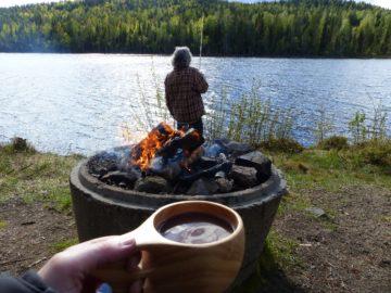 voyage pêche en Laponie suédoise