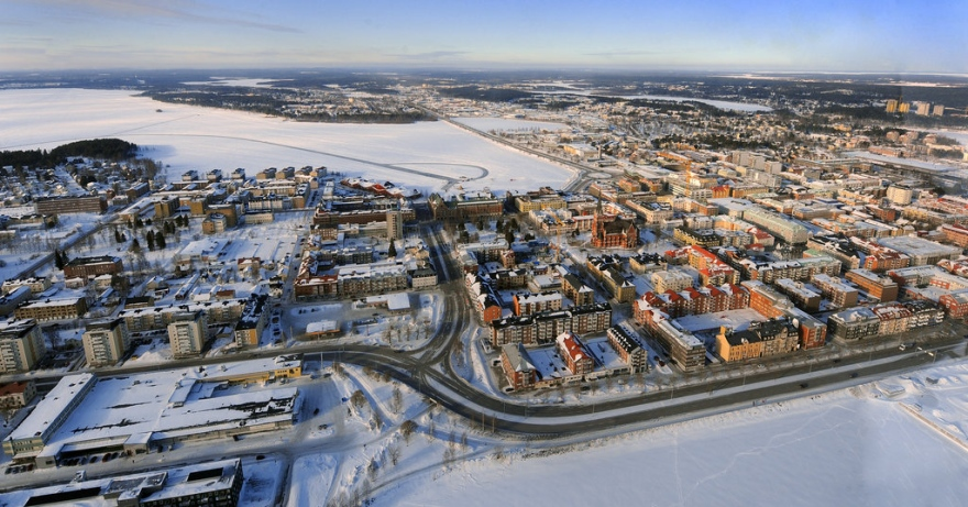 Visit of the city of lulea