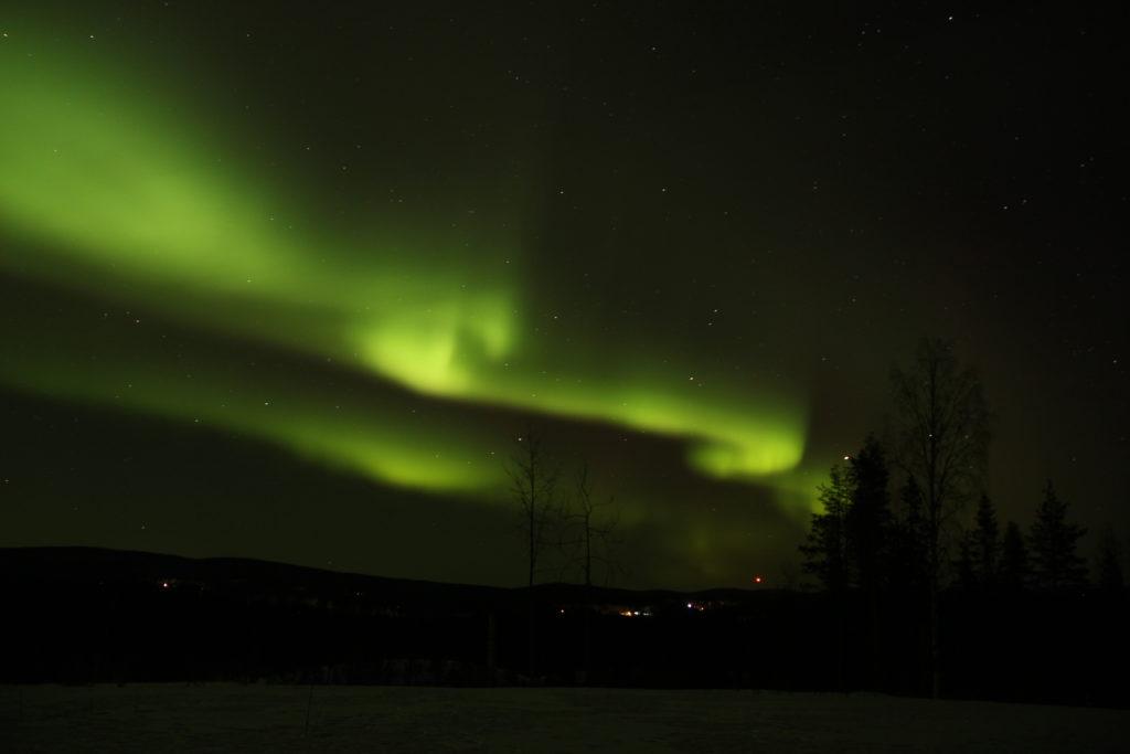 northern lights lapland - zen holidays