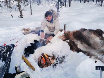 Cours de survie en Laponie